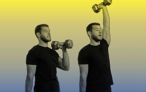 The Shoulder Exercise That Sculpts Your Core