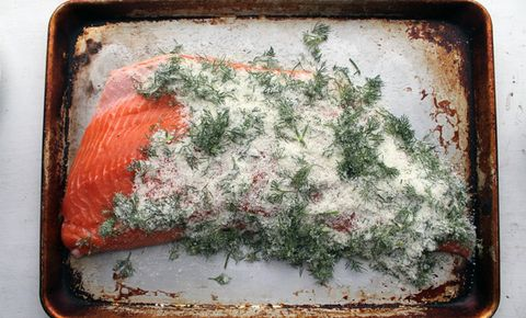 Make Tequila And Lime Cured Salmon
