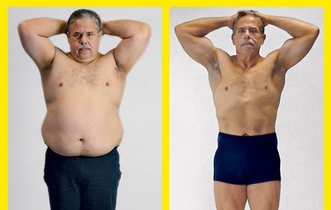 How One Man Lost 121 Pounds and Added 20 Pounds of Muscle