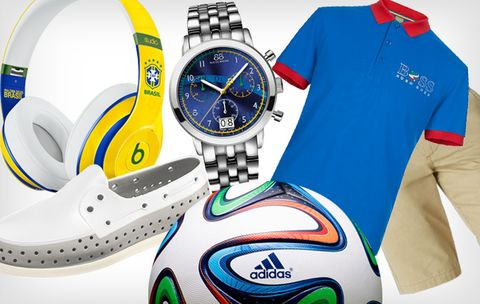 Cheer on Your Favorite Team with This World Cup-Themed Gear