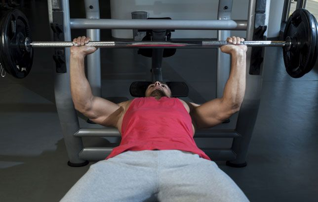 Different bench press positions for sexual health