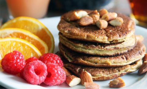 Pump Up Brunch with Protein Pancakes
