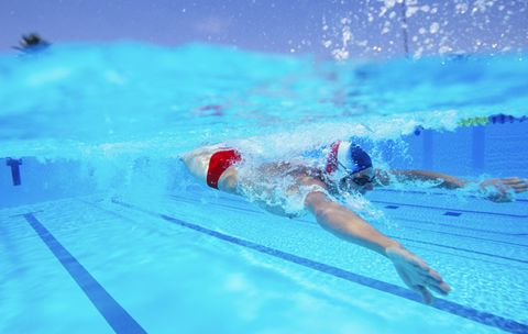 2 Lung-Busting Swim Workouts You Have to Try