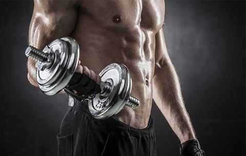 Cardio Workout with Dumbbells