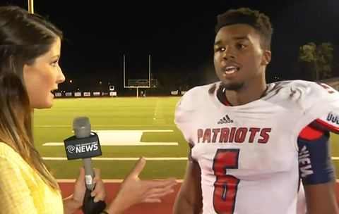 This High School Football Player Gives a Motivational Speech That Will Blow You Away