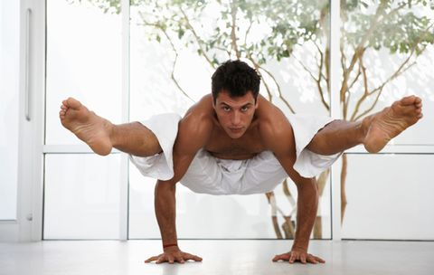The Secret to Getting Better at Yoga