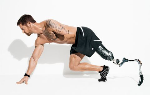 Noah Galloway Is the Ultimate Men's Health Guy