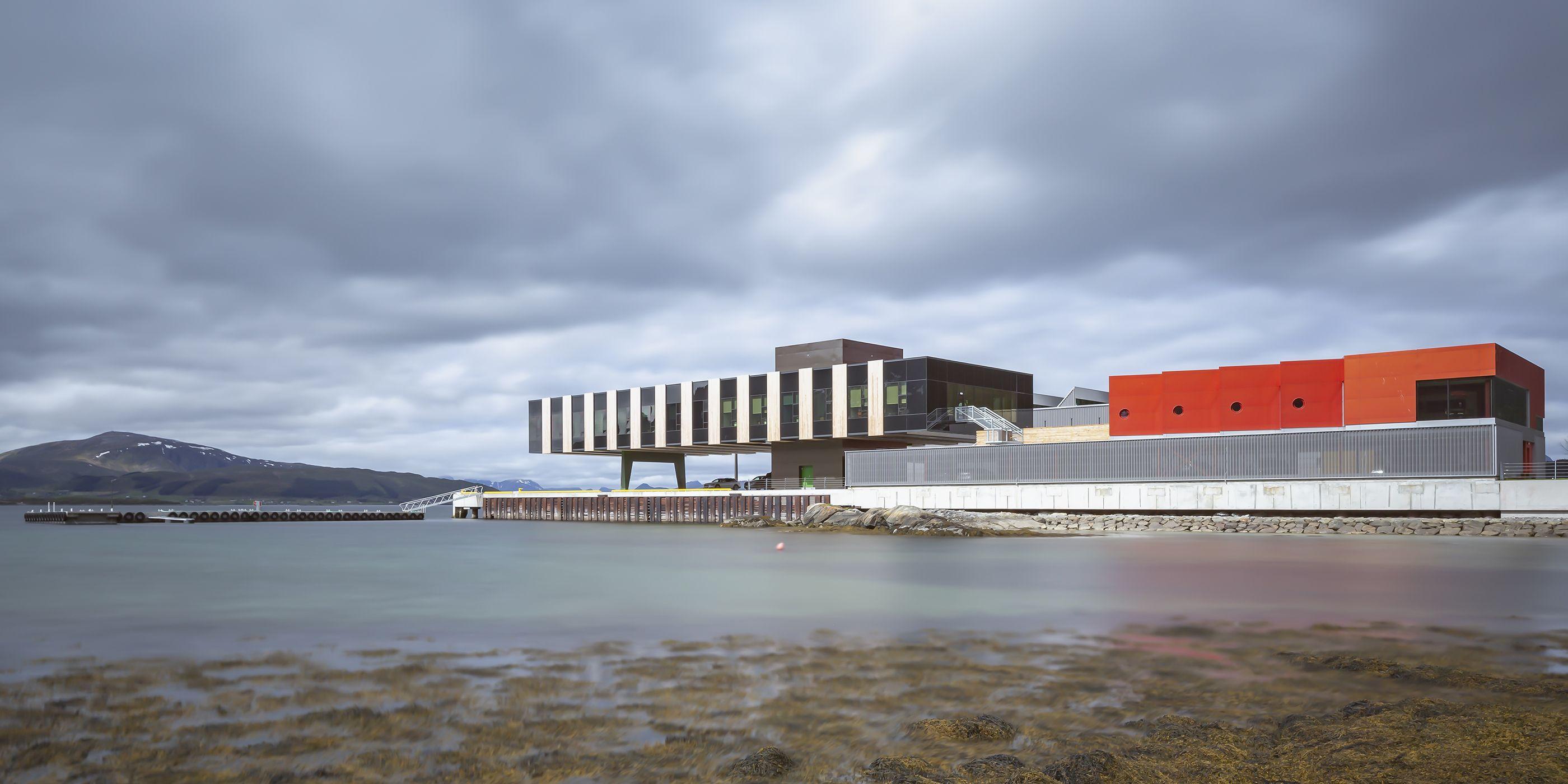 Holmøy Maritime, Snøetta, Holmen, arcipelago di Vesterålen, Norvegia