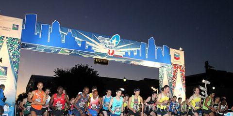Houston Half Marathon Start 2014