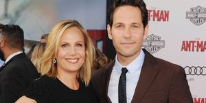 paul rudd and wife julie yaeger - 2015 ant-man premiere