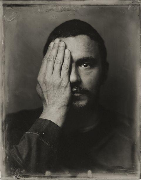 Face, Photograph, Black, Portrait, Forehead, Black-and-white, Art, Photography, Moustache, Self-portrait,