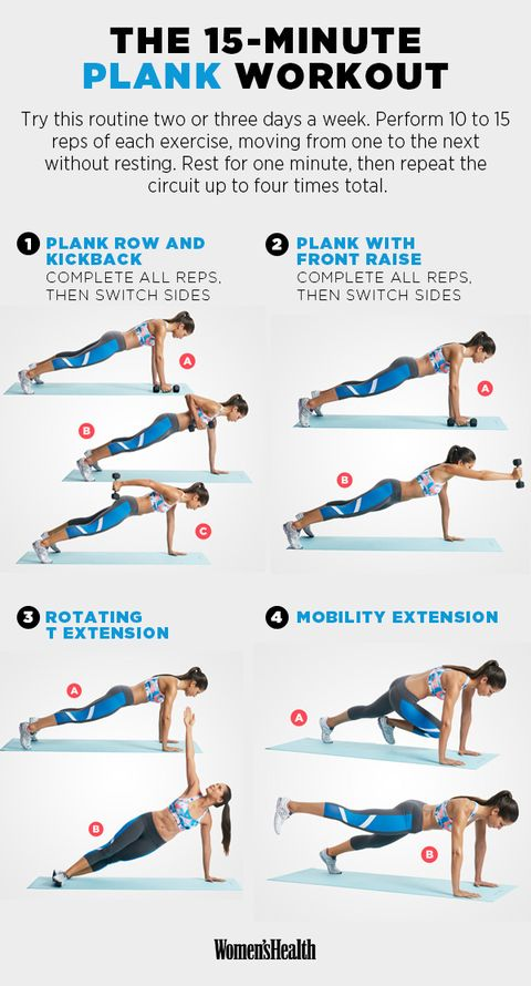 The Plank Workout That Will Tone Your Abs Sculpt Tush And