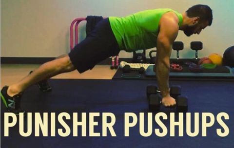 Try the 'Punisher' Pushup