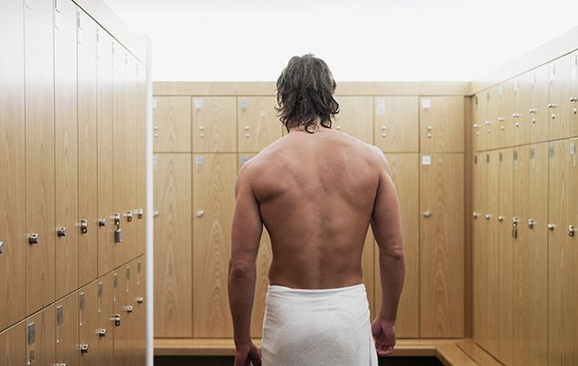 Gym locker room etiquette