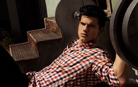 The Taylor Lautner Workout: Build Muscle Fast