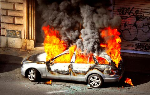 Your Car's On Fire—Now What?