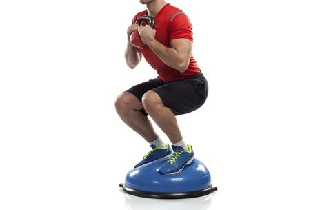 Why You Shouldn't Do Squats on a Bosu Ball