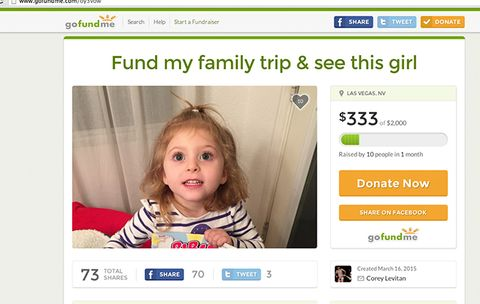 how one guy used a crowdfunding website to pay for his family vacation