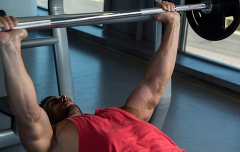Never Bench Press with Your Feet in This Position