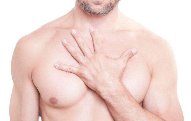 Female On Male Nipple