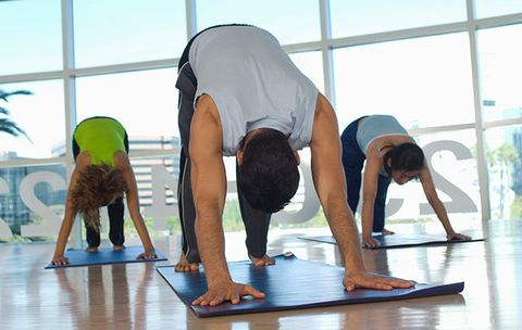 2 Yoga Poses for the Gym