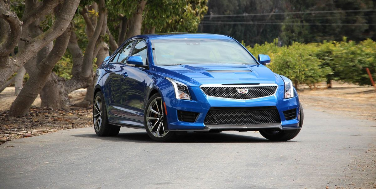 2019 Cadillac ATS-V Review, Pricing, and Specs