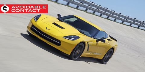 Land vehicle, Vehicle, Car, Sports car, Performance car, Automotive design, Yellow, Corvette stingray, Motor vehicle, Supercar,