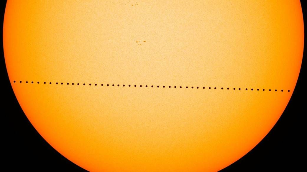 Watch Mercury's Transit of the Sun Right Here