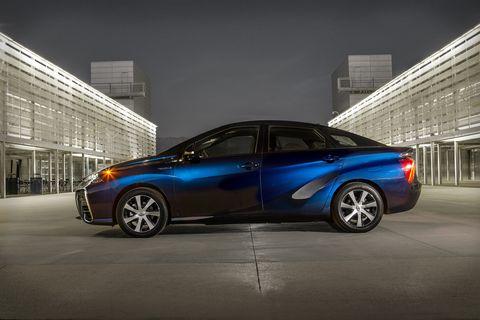 Toyota Mirai is part of the hydrogen revolution