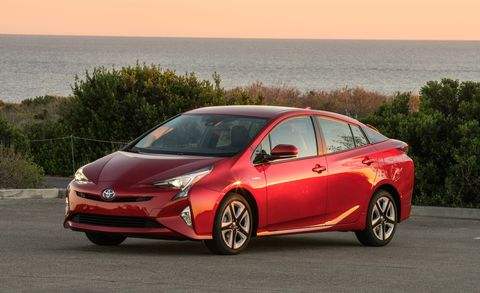 2016 Toyota Prius Four Touring Red
