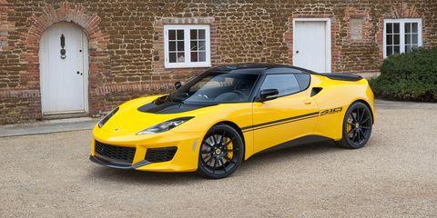 Land vehicle, Vehicle, Car, Supercar, Sports car, Lotus evora, Yellow, Automotive design, Motor vehicle, Performance car,