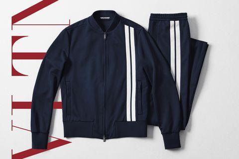 Clothing, Jacket, Outerwear, Zipper, Sleeve, Sports uniform, Sportswear, Leather jacket, Textile, Leather,