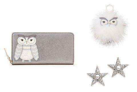 Owl, Fashion accessory, Snowy owl, Jewellery, Body jewelry, Bird of prey, Silver, Bird, Pendant, Silver,