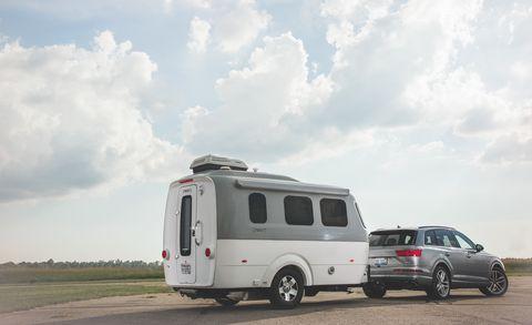 Land vehicle, Vehicle, Car, RV, Transport, Mode of transport, Commercial vehicle, Travel trailer, Trailer, Van,