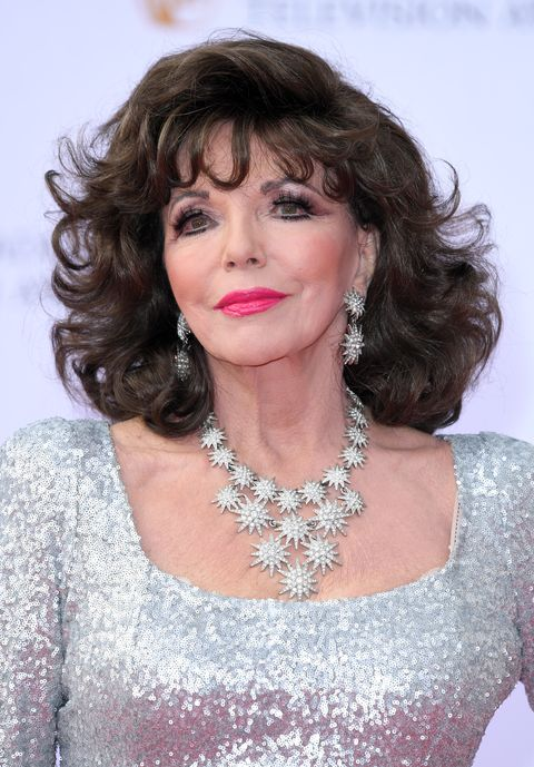 london, england   may 14  dame joan collins attends the virgin tv bafta television awards at the royal festival hall on may 14, 2017 in london, england  photo by karwai tangwireimage