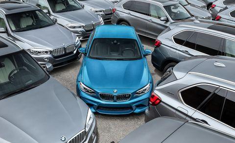 Land vehicle, Vehicle, Car, Motor vehicle, Luxury vehicle, Personal luxury car, Transport, Parking, Mode of transport, Bmw,