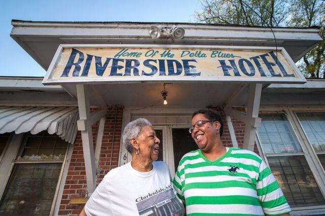 the riverside hotel clarksdale ms