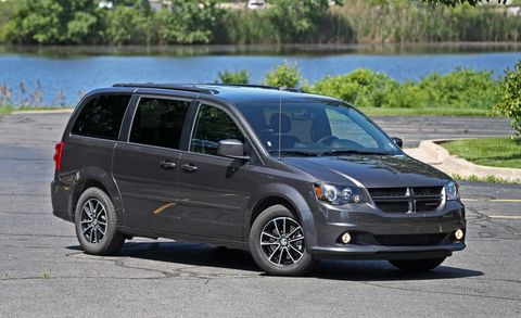 2017 Dodge Grand Caravan Car And Driver