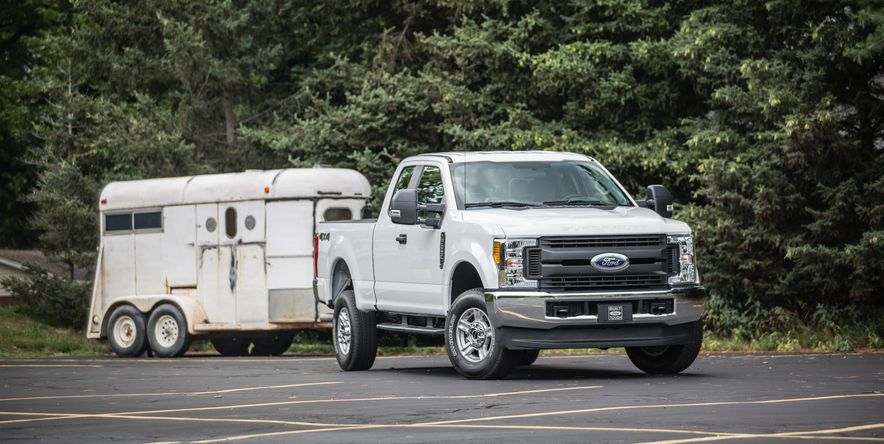 Top Super Duty Pickups By Towing Capacity