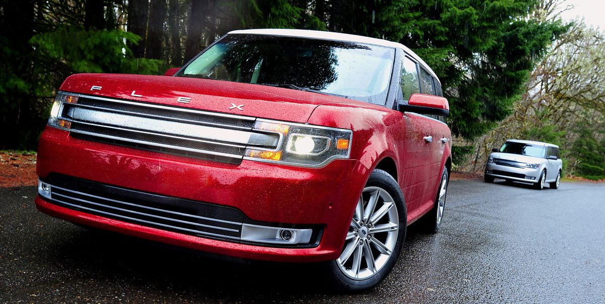Ford Recalls Flex, Lincoln MKT over Suspension Flaws
