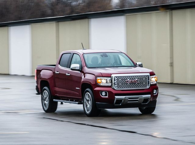 Gmc Canyon Denali >> 2019 Gmc Canyon