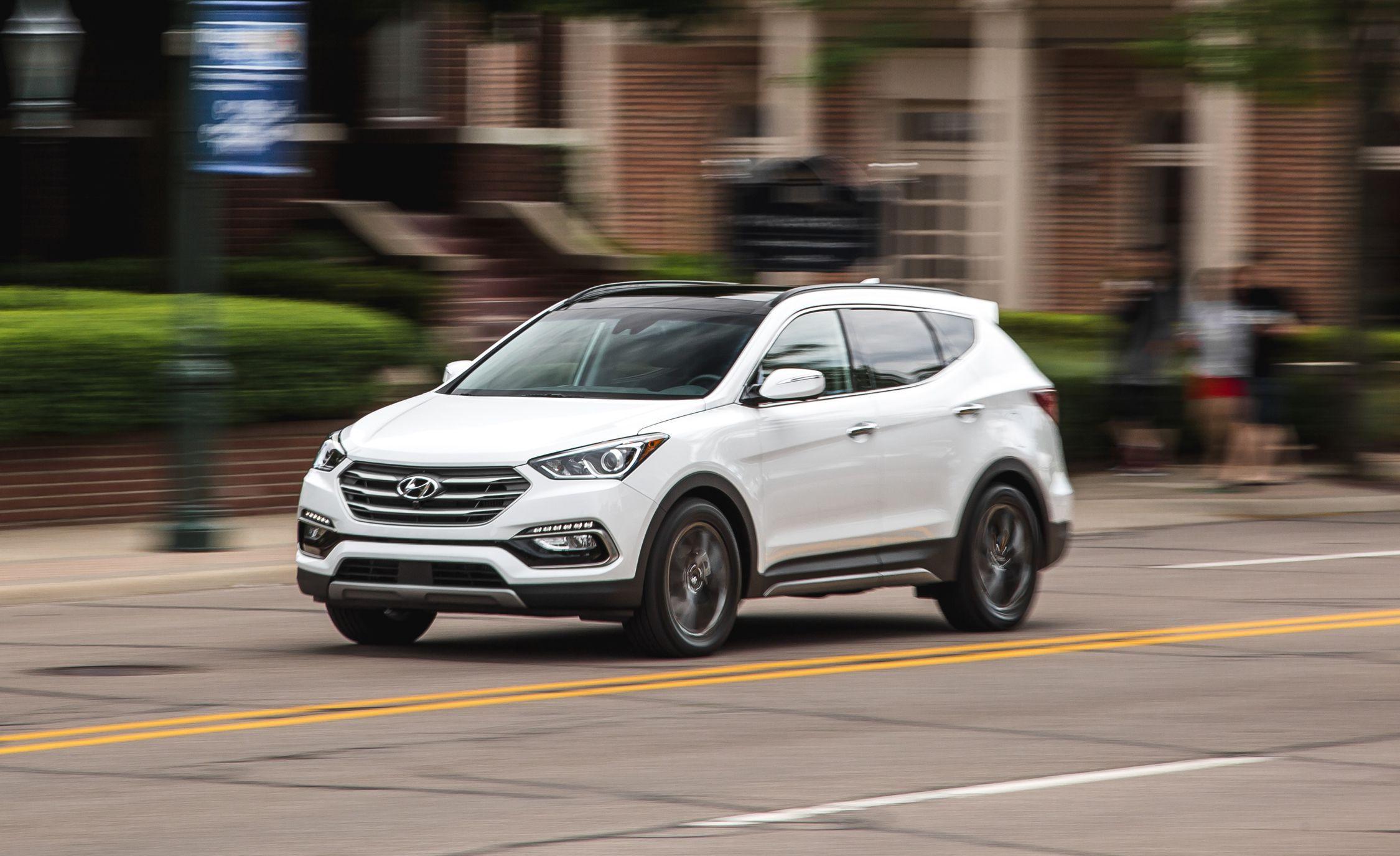 Hyundai Santa Fe Sport Features And Specs