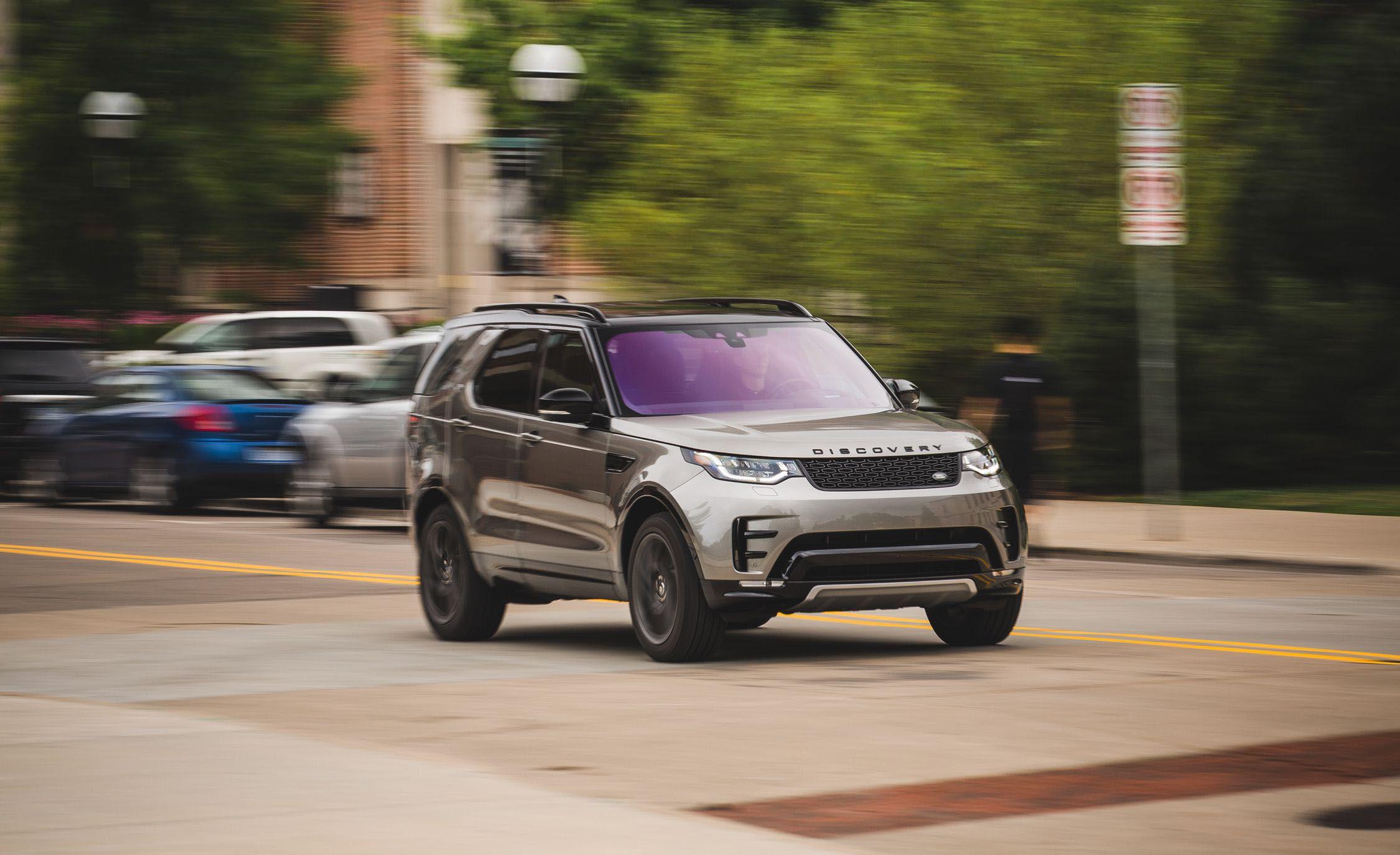 פנטסטי 2017 Land Rover Discovery V-6 Test   Review   Car and Driver LI-66