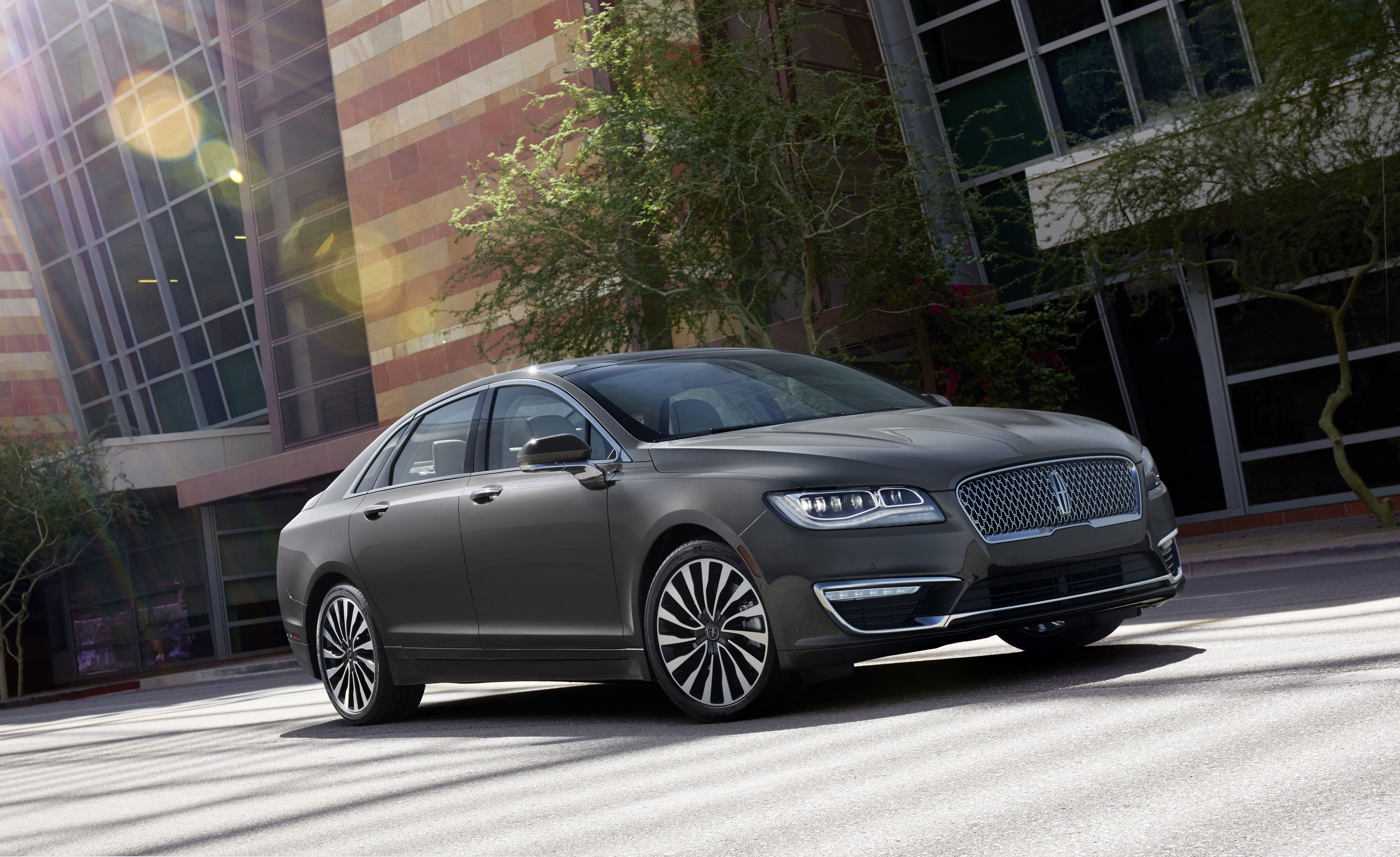 22. Lincoln MKZ The MKZ , one of Lincoln's only two passenger car offerings, is available with a 400-hp twin-turbo V-6 that can be paired with an all-wheel-drive system with torque vectoring. That's pretty much the most exciting thing about it (and, in our experience , it's not really a positive).