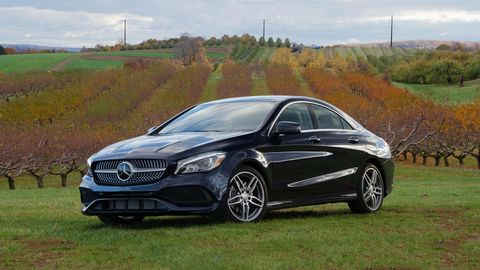 Mercedes New Model >> New Mercedes Benz Vehicles Models And Prices Car And Driver