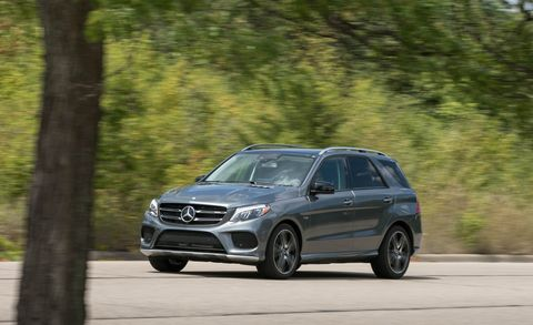 2017 Mercedes-AMG GLE43 driving