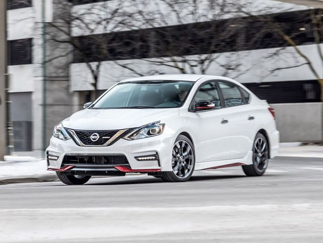 2019 Nissan Sentra NISMO Review, Pricing, and Specs