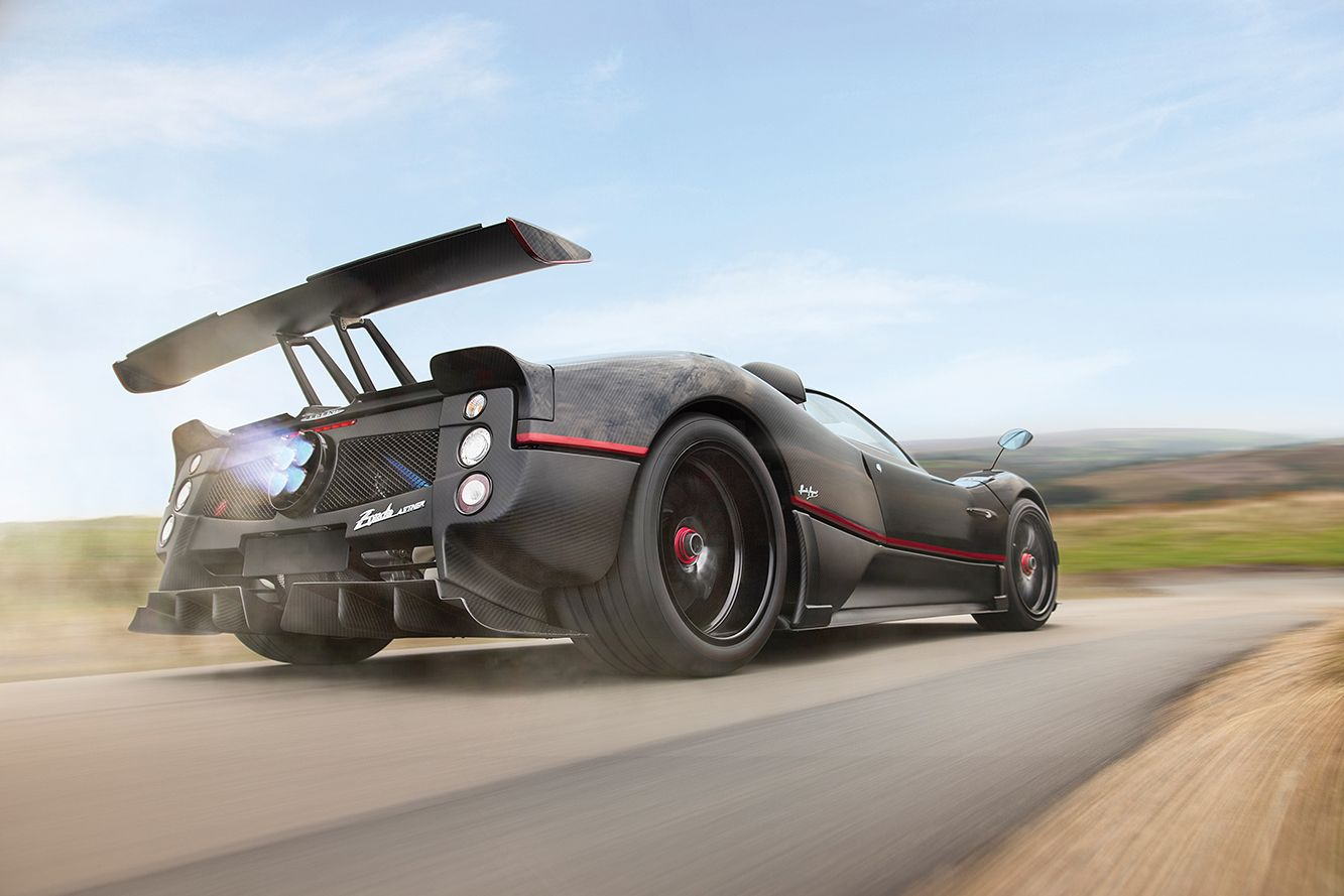 Can't Afford a McLaren F1? Buy This Manual Pagani Zonda Instead