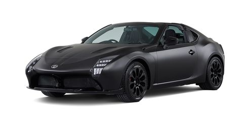 Toyota Gr Hv Sports Concept Revealed Toyota Concept Is An 86 Hybrid