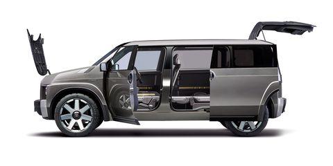 20f6f4ec16fb41 Toyota Made the Most Badass Minivan - New Toyota TJ Cruiser Details